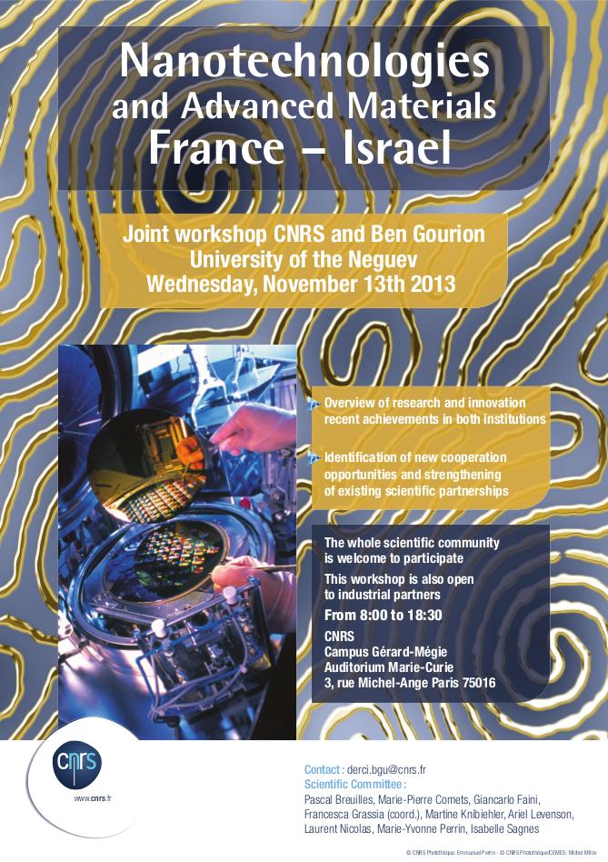 Flyer EN BGU-CNRS